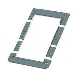 Плоский оклад SRF 55х118 см