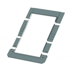 Плоский оклад SRF 134х98 см
