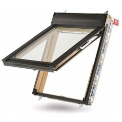 Верхнеподвесное мансардное окно 55х98 см