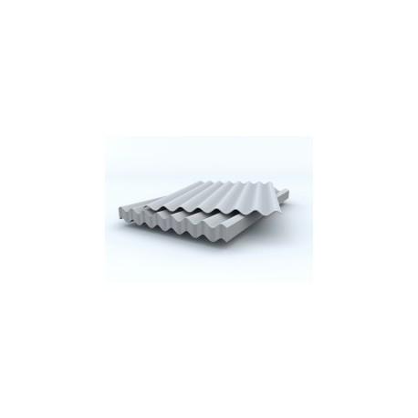 Шифер серый 8-волновой 1750х1130