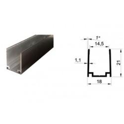 Алюминиевый профиль для монтажа гибкого неона