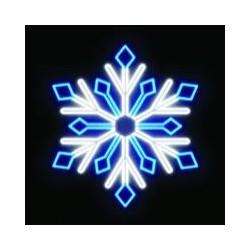 Светодиодная фигура Снежинка 0115