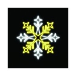 Светодиодная фигура Снежинка 0413