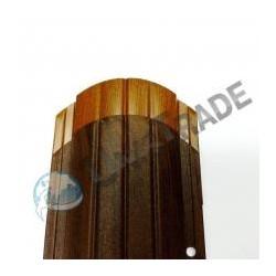 Штакетник Версаль «Printech» (Золотой дуб, Античный дуб)