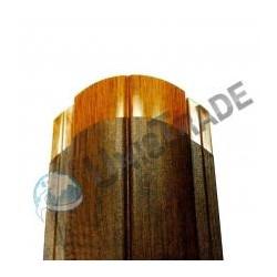 Штакетник Кантри «Printech» (Золотой дуб, Античный дуб)