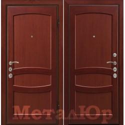 Дверь МеталЮр Валенсия, махагон