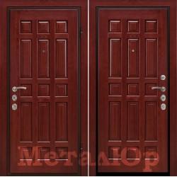 Дверь МеталЮр Венеция, махагон