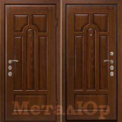 Дверь МеталЮр Париж, старый орех