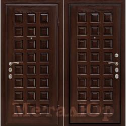 Дверь МеталЮр Шоколад, каштан