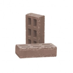 Кирпич пустотелый тычковый Шоколад