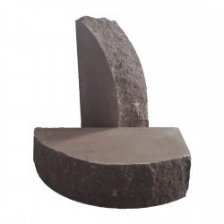 Кирпич полукруглый Шоколад