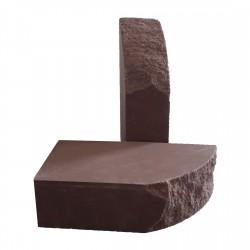 Кирпич дуговой Шоколад