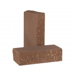 Кирпич  фактурный тычковый Шоколад