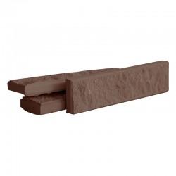 Плитка фасадная, Шоколад