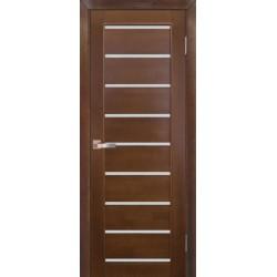 Дверь Модель №2 ЧО Ореховый, мателюкс
