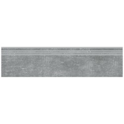 Ступень Цементо Темно-серый 30х120 см