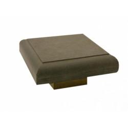 Крышка для столба из ДПК Outdoor коричневая
