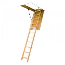 Чердачная лестница LWS 60х120х280 см