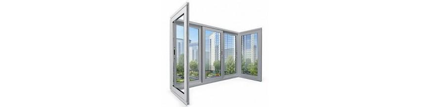 Балконные рамы из алюминия